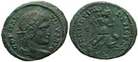 Constantine the Great SARMATIA DEVICTA unlisted                     for combination of field marks