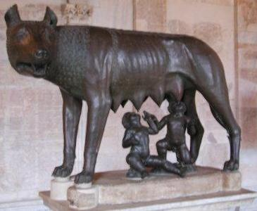 Constantinian Commemoratives Constantinopolis And Vrbs Roma